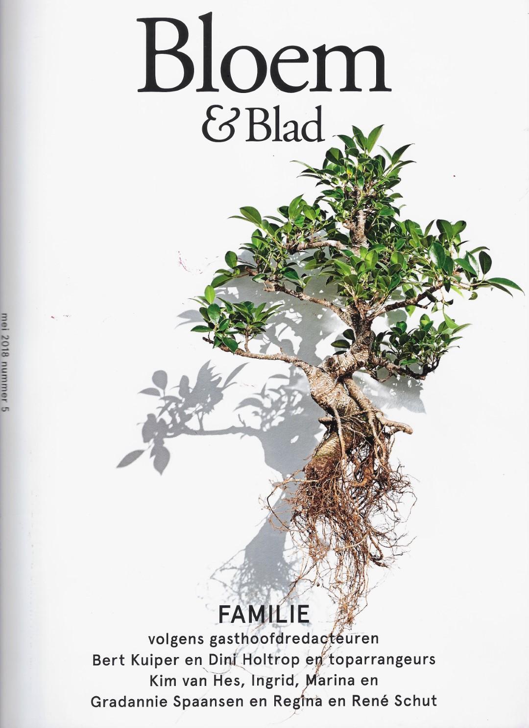 1 voorkant afbeelding bloem en blad (Groot)